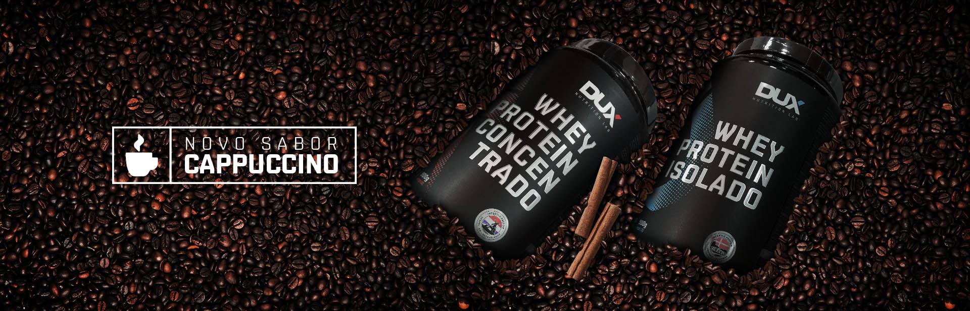 Whey Protein de Cappuccino