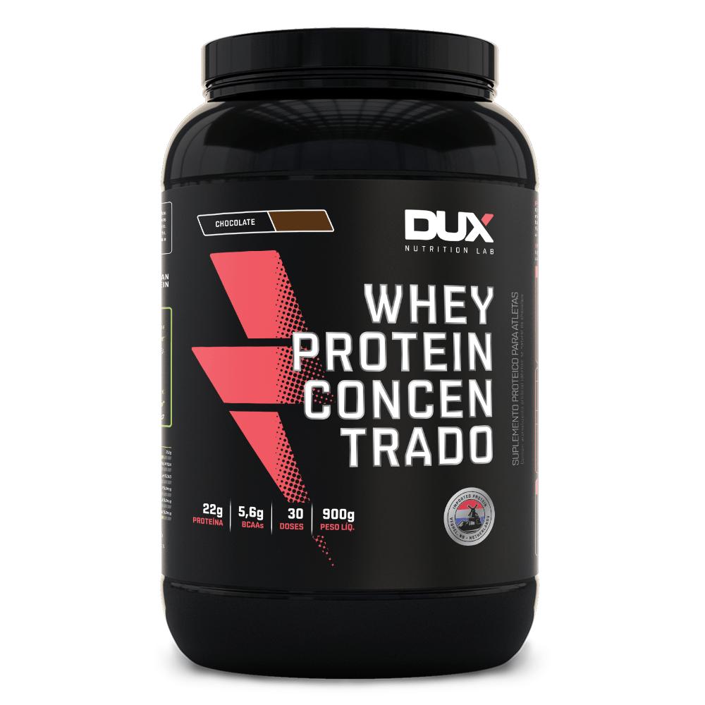 c668547e2 Whey Protein Concentrado - Pote 900g - duxnutrition