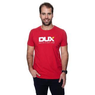 DUX_FotosVestuario_CamisetaMasculinaVermelha_Frente