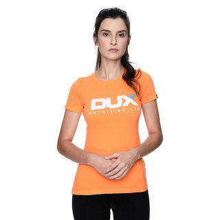 DUX_FotosVestuario_CamisetaFemininaLaranja_Frente